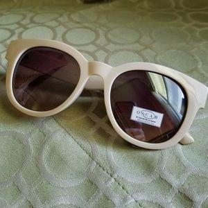 266ad9fde8c35 O by Oscar de la Renta Cream Sunglasses NWT